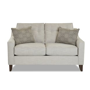 Best Reviews Ciccone Loveseat by Darby Home Co