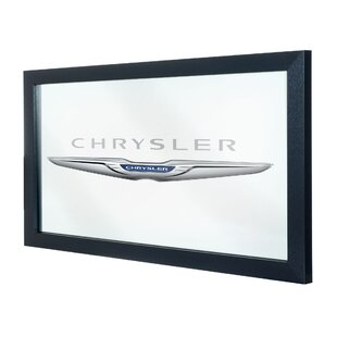 Trademark Global Chrysler Framed Logo Accent Mirror