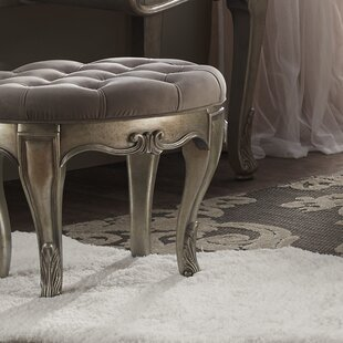 Online Reviews Holmes Vanity Stool By House of Hampton