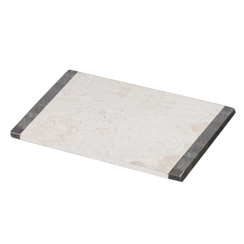 Handmade Pastry Board Cheese Platter Matte Black 100/% Natural Marble Board