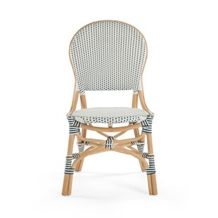 Tawanna Rattan Side Chair (Set of 2) Bayou Breeze