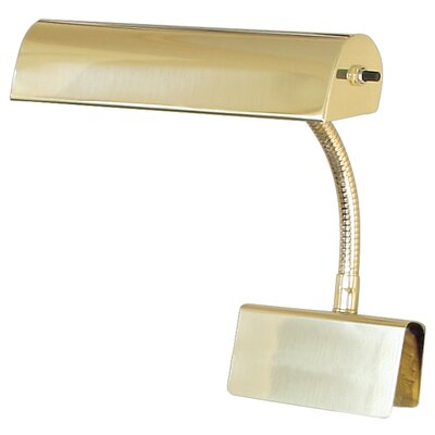 "Charlton Home Pennie Piano 8.5"" Table Lamp Finish: Polished Brass"