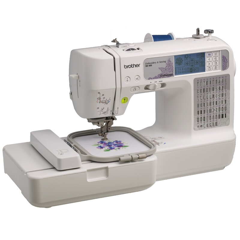 Brother Sewing Computerized Embroidery And Sewing Machine Reviews Inspiration Embroidery Sewing Machine