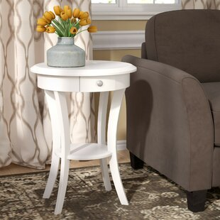 Emington End Table With Storage by Charlton Home