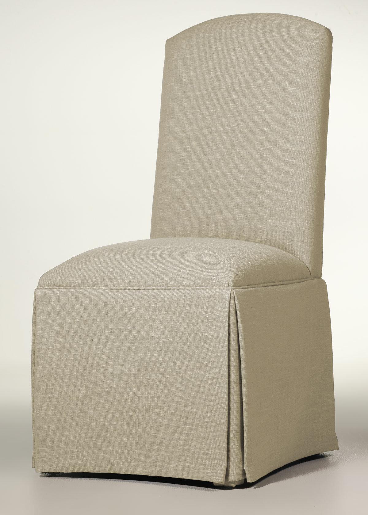 Sensational Lamoille Traditional Skirted Upholstered Dining Chair Ibusinesslaw Wood Chair Design Ideas Ibusinesslaworg