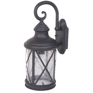 Ruggerio Outdoor Wall Lantern by Alcott Hill