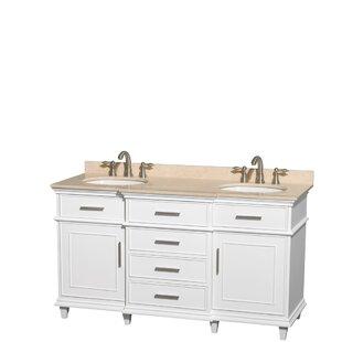 Berkeley 60 Double Bathroom Vanity Set by Wyndham Collection