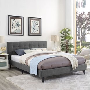 Wrought Studio Molinaro Upholstered Platform Bed