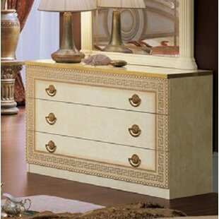 Rosdorf Park Albert 3 Drawer Dresser Image