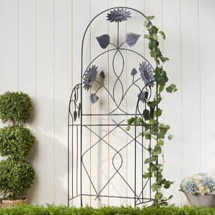 Birch Lane™ Flowered Trellis Panels (Set of 2)