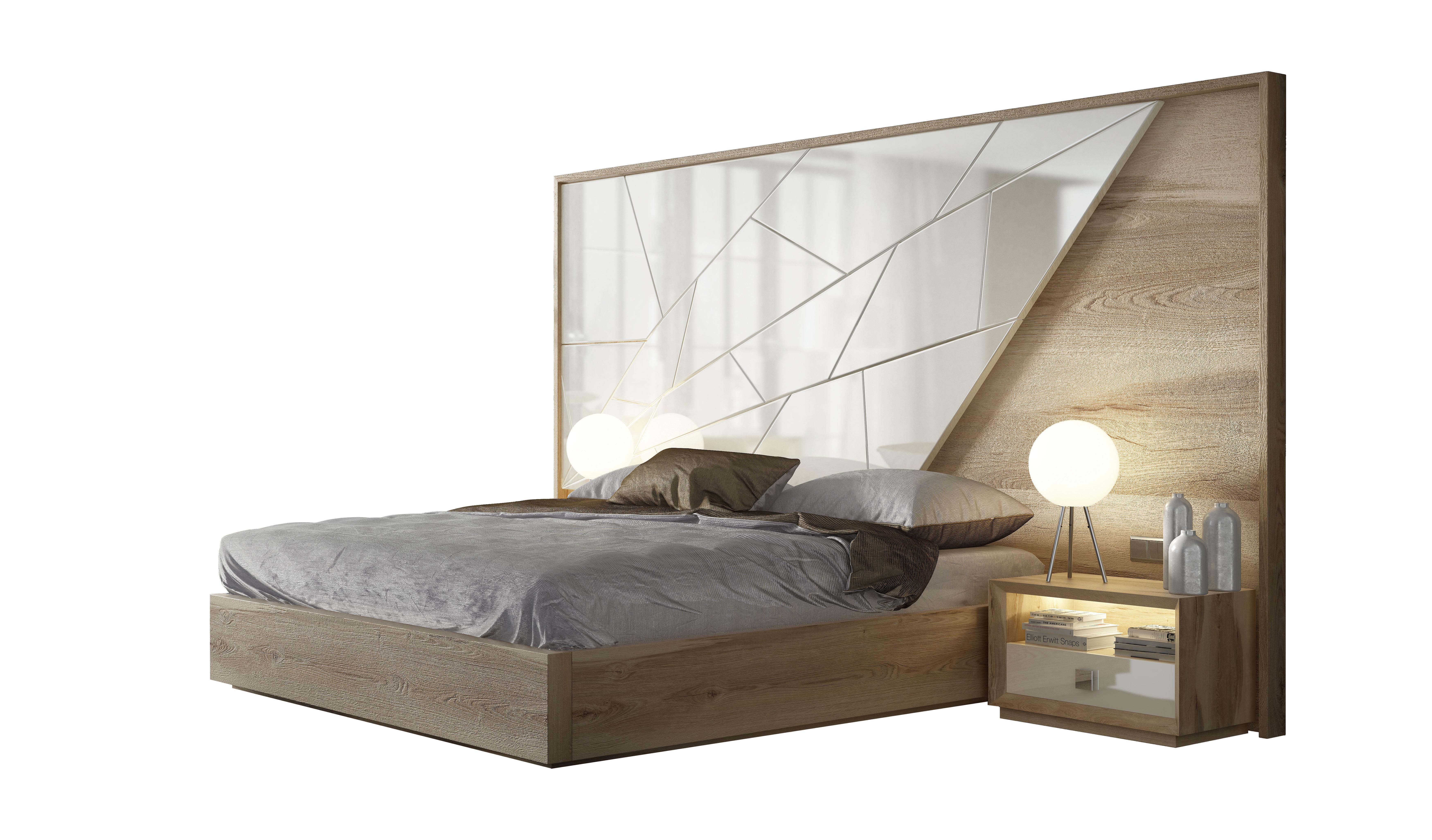 Hispania Home King Platform 3 Piece Bedroom Set Wayfair
