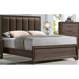 Layla II Padded Upholstered Standard Bed by Foundry Select