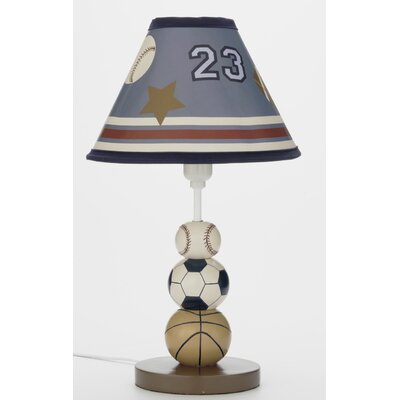 Small sports table lamps youll love wayfair play ball lamp 146 table lamp base mozeypictures Images