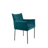 Dion Velvet Armchair (Set of 2) by Luxury Furnitures
