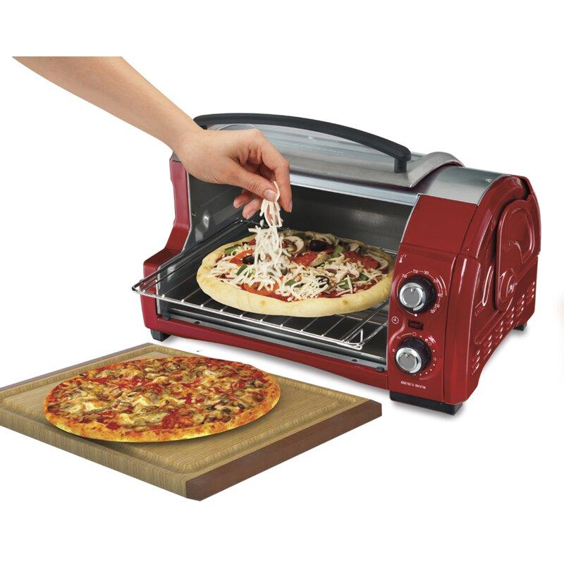 Easy Reach Toaster Oven With Roll Top Door