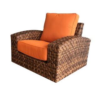 Bayou Breeze Kellar Patio Chair with Cush..