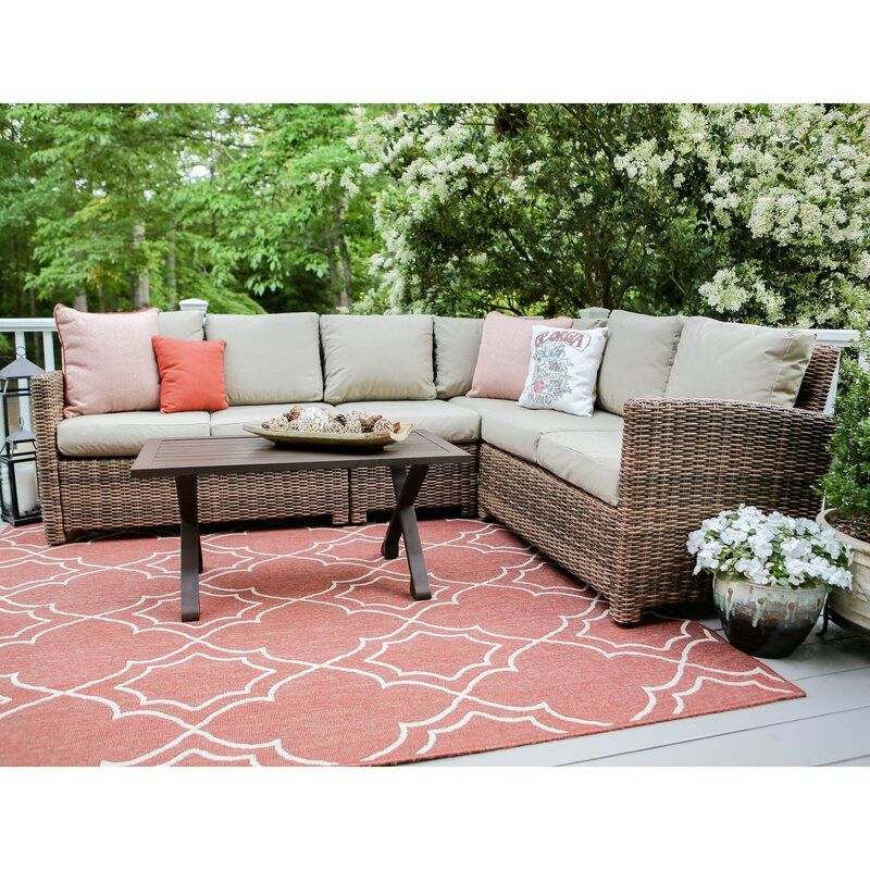 Dalton 5 Piece Sectional Set with Cushions