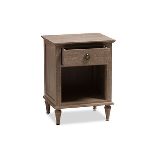 Larosa French 1 Drawer Nightstand