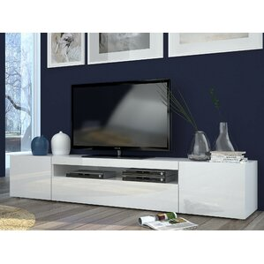 modern tv stand white. daiquiri grande tv stand for tvs up to 80\ modern tv white