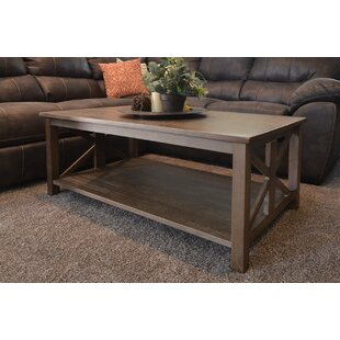 Stoudt Coffee Table by Three Posts