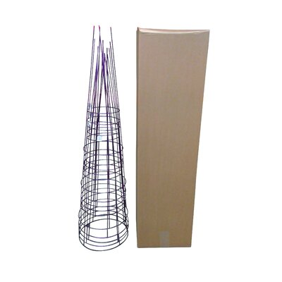 Plant Support Glamos Wire Size: 54 H x 16 W x 16 D, Color: Amethyst Purple
