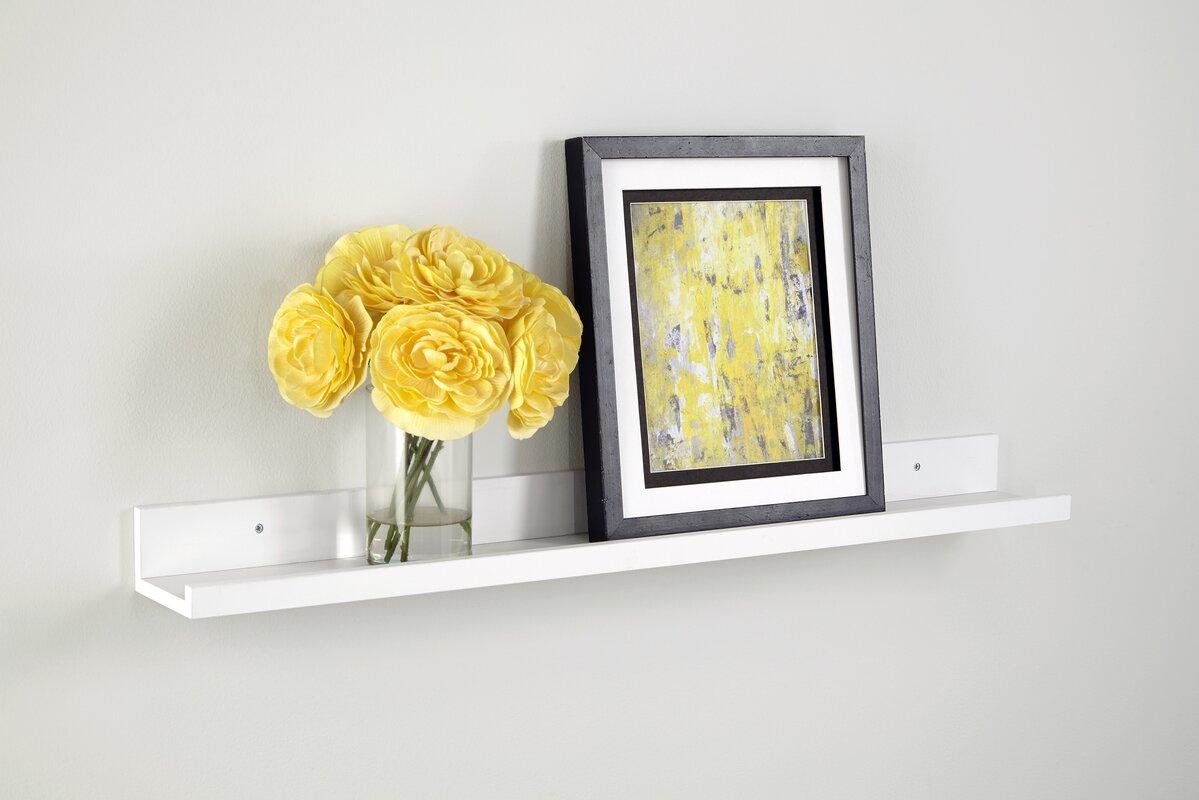 ClosetMaid Wall Shelf with Ledge & Reviews | Wayfair