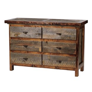 Jaramillo 6 Drawer Double Dresser