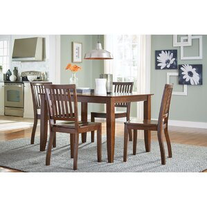 Alice 5 Piece Dining Set by August Grove