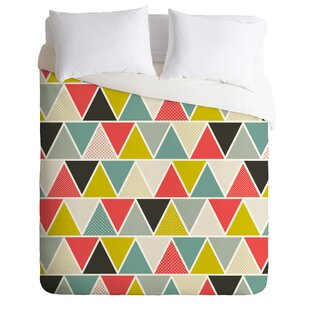 East Urban Home Triangulum Duvet Cover Set