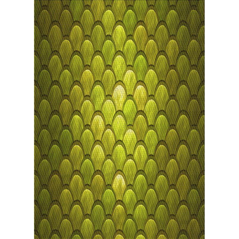 East Urban Home Clift Geometric Wool Yellow Area Rug