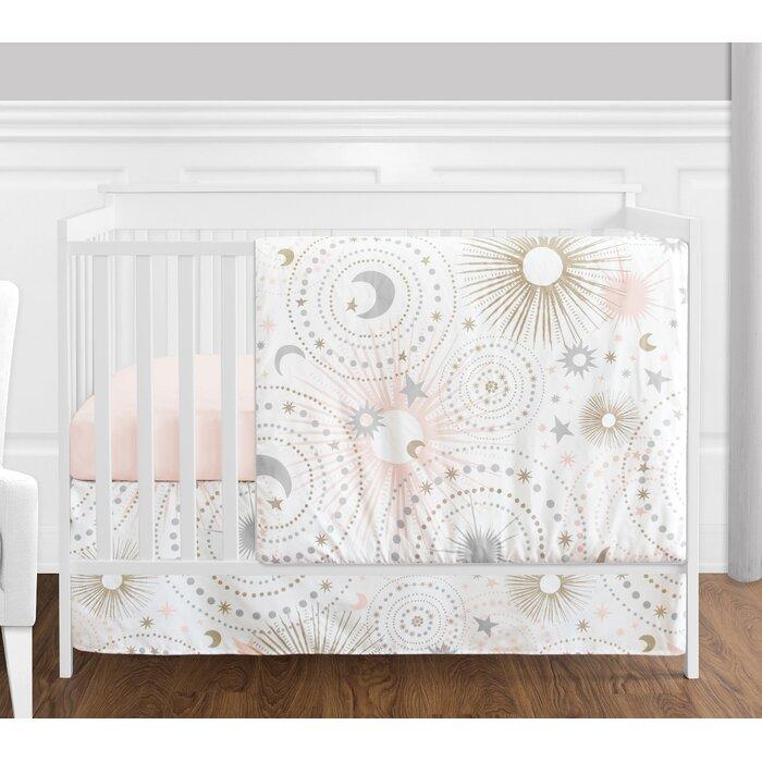 Celestial 4 Piece Crib Bedding Set