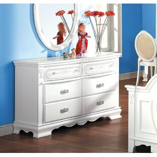 Harriet Bee Egbert 6 Drawer Dresser