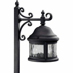 Alcott Hill Triplehorn Aluminum 1-Light Pathway Light