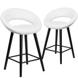 Dilworth Bar & Counter Stool (Set of 2) by Latitude Run