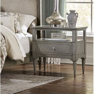 Langdon-Gray 1 Drawer Nightstand By One Allium Way