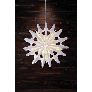 1-Light White Alnas Lighted Window Décor By Markslojd