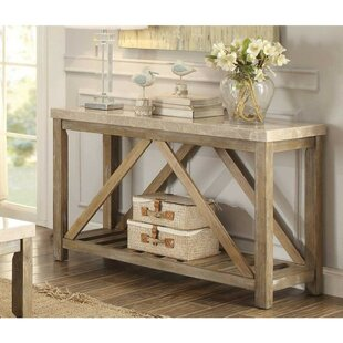 Ischua Rectangular Wooden Console Table
