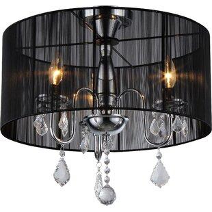Warehouse of Tiffany 3-Light Pendant