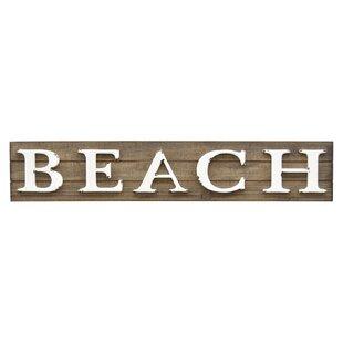 Sign Beach Wall Décor