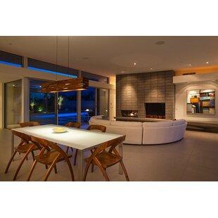 Cerno Aeris 3-Light LED Kitchen Island Pe..