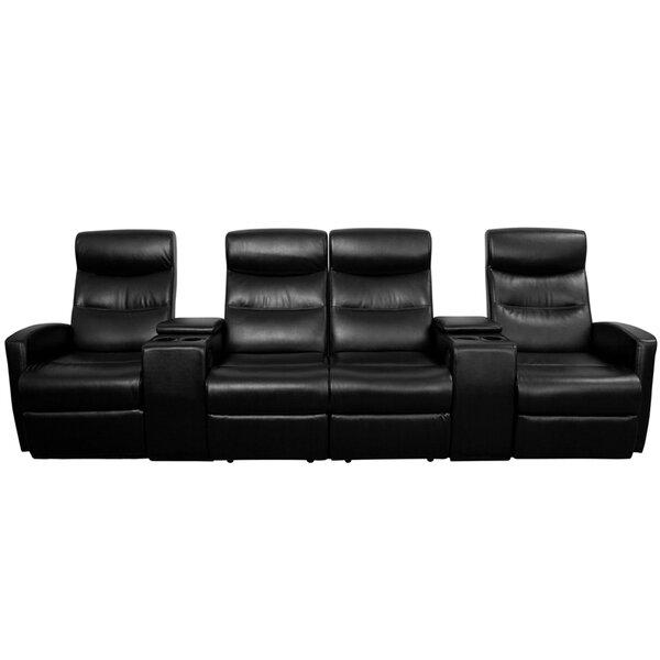 sc 1 st  Wayfair & Red Barrel Studio 4 Seat Home Theater Recliner u0026 Reviews | Wayfair islam-shia.org