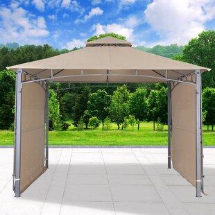 11 Ft. W x 11 Ft. D Steel Patio Gazebo by Cloud Mountain Inc.
