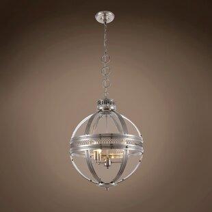 Fedler 3-Light Globe Chandelier by Darby Home Co