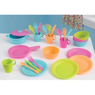 27 Piece Colourful Kitchen Utensil Set