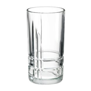 Subedi Cooler 16oz. Glass Every Day Glasses (Set of 4)