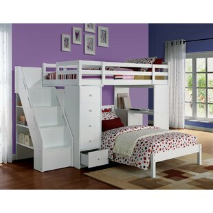 Montelimar Wooden Full Bed with Bookcase