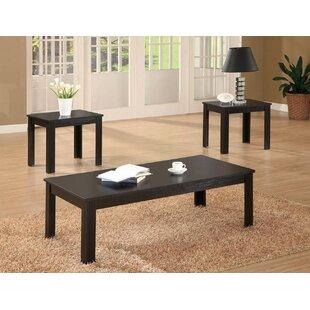 Winston Porter Tinkham 3 Piece Coffee Table Set