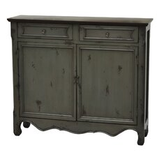 2 Door/2 Drawer Cupboard by Crestview Collection