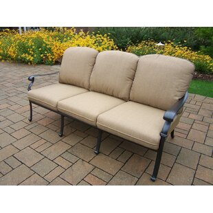 Bosch Deep Seating Sofa With Cushions by Darby Home Co 2019 Sale