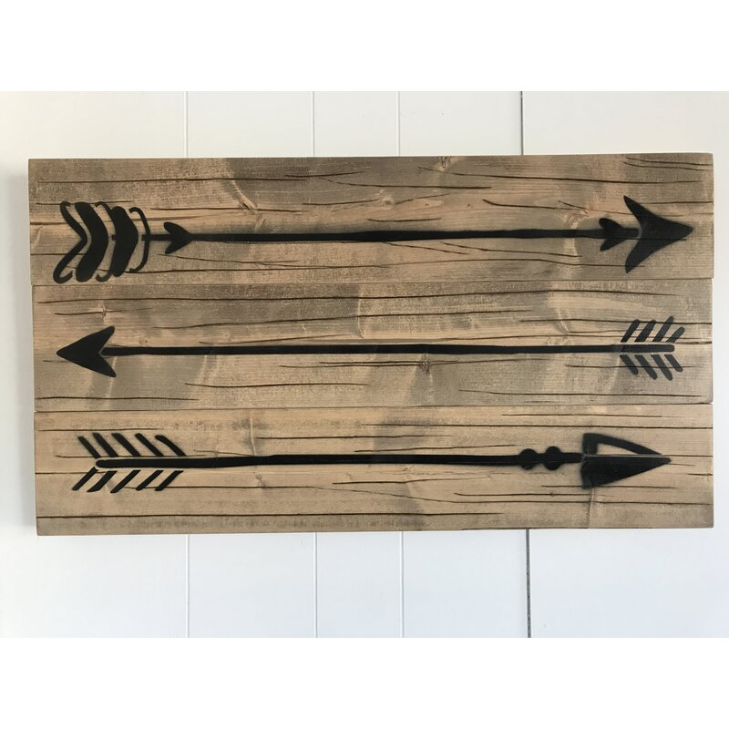 Lovely Rustic Wood Arrow Wall Decor | Joss & Main QH96